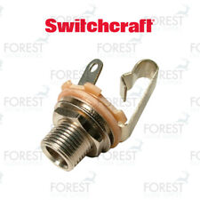 """Switchcraft ® SCL11 Jack mono input 1/4"""", inch, extra long thread"""