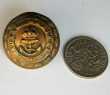 WWII Royal Marines uniform button World War 2 vintage 1940s navy military KC