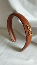 Salvatore Ferragamo Leather  Headband new