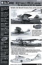 Aviaeology Decals 1/48 Canadian CANSO A (PBY-5A) SUB KILLERS COLLECTION