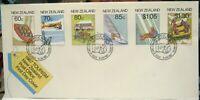 New Zealand FDC 1987 Tourism