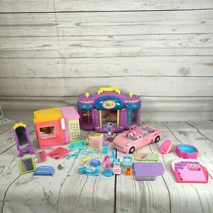 32 x Polly Pocket boutique furniture & Accessories bundle spare parts polly