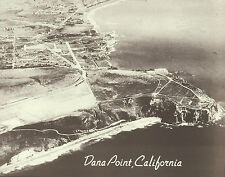 "DANA POINT CALIFORNIA COASTLINE Aerial Photo Print #1251 11"" x 14"""