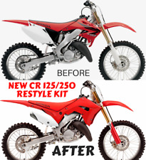 CR 125 250 02 03 04 05 06 07 Plastics Kit Restyle Get Updated CRf 450 18 Look