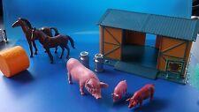 Kleiner Bauernhof ,Farm  mit Tieren und Zubehör   Nr.21