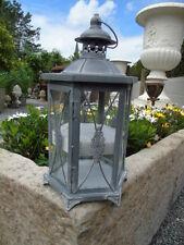 bougeoir , lanterne en fer forgé patinée art déco , nouveau !