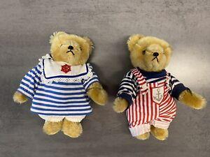 2 Hermann Teddys - Junge und Mädchen