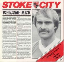 Stoke City v Port Vale 1985/6 (6 Aug) Friendly
