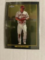 MIKE TROUT 2020 Topps Series 1 Turkey Red Chrome Parallel #TRC-46 LA Angels