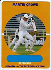 1989-90 Stimorol, Scanlens Cricket Card -  Martin Crowe  #44