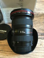Canon EF 16-35 mm F/2.8 L EF II USM Objektiv Händler