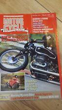 motor cycle enthusist magazine bmw 's kompressor royal enfield  norton atlas