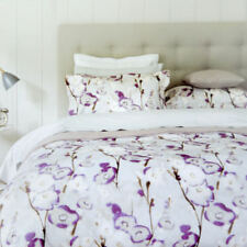 Completi di lenzuola o copripiumini viola Floreale 100% Cotone