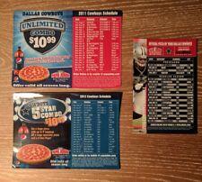 Dallas Cowboys Schedule Magnet 2011 2012 2016