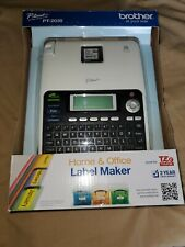 NEW Brother P-Touch Label Maker PT-2030 Includes Manual TZ Tape & 6 AA Batteries