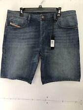 Diesel Men's BustShort Blue Denim Jeans Shorts Size 38 DL4