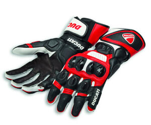 Ducati Alpinestars Speed Evo C1 Racing Leather Gloves Gloves Red New