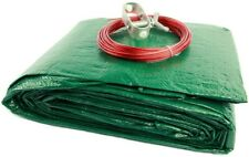 Medium Duty 12' Above Ground Pool Winter Cover Green - NEW!
