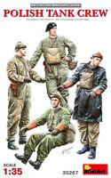 Miniart 35267 Polish Tank Crew Scale Plastic Model Kit 1/35