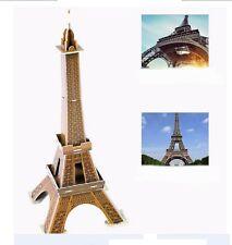 Kids 20 Pcs Paris Eiffel Tower 3D Puzzle World's Great Architecture Collection
