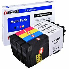 802 BK 802XL Color Ink Cartridges For Epson WorkForce WF-4720 WF-4730 WF-4734