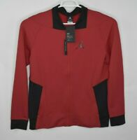 NEW Nike Jordan Mens Zip Training Jacket Black Red 924657 Size Large $90