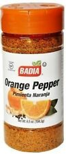 Badia Orange Pepper Seasoning for Pork Poultry Seafood 6.5 oz