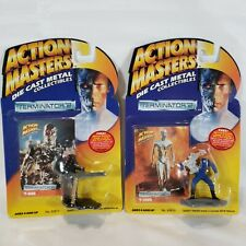 New listing Vintage Terminator 2 Action Masters Die Cast Metal Collectibles Sealed Set