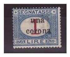 TRENTO E TRIESTE   1919 -  SEGNATASSE  -   LIRE 1  NUOVO *