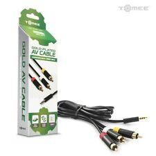 Xbox 360 E Gold-Plated AV Cable - Tomee  Brand New