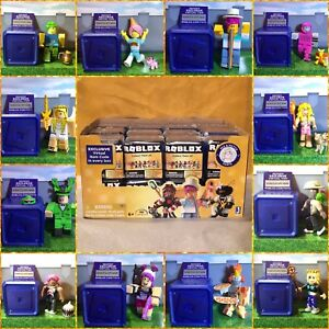 Roblox Celebrity Series 2 Mystery Blue Box Kids Toys Figures NEW + Virtual Codes