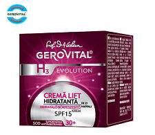 Gerovital H3 Evolution Moisturizing Lifting Cream 30+, SPF 10, Day Care