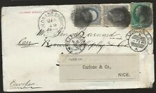 1882 Cover Colorado to Germany to Wife of Civil War General John G Barnard