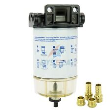 Boat Outboard Fuel Filter Kit Marine Fuel Water Separator Universal 10 Micron