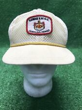 Vintage Hawaii Kai Golf Course GC Strapback Mesh Island Hat wow Yellow Fast Ship