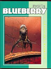 MOEBIUS 9 BLUEBERRY SIGNED NUMBERED HC JEAN GIRAUD HARDCOVER GRAPHITTI DESIGNS