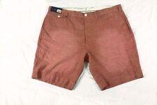 $85 Mens RALPH LAUREN Chambray Shorts 42 WAIST Coral Red Preppy POLO beach