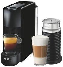 Krups XN 1118 Nespresso Essenza mini bundle black with Aeroccino coffee maker
