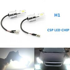 H1 CSP LED Headlights Bulbs Kit High Low Beam DRL 100W Bright White 6000LM