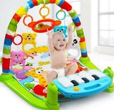 3in1 Krabbeldecke Spieldecke Spielbogen Spielmatte Erlebnisdecke Babyspielmatte