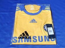 Bnwt RARE Adidas Chelsea 2008-2009 AWAY 3RD Player Issue Manica Corta Camicia XXL