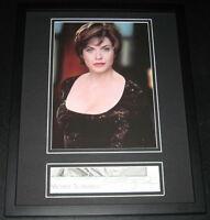 Michelle Scarabelli Signed Framed 11x14 Photo Display Star Trek Alien Nation