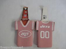 New York Jets Pink Neoprene Bottle Jersey Holder