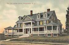 Hackensack New Jersey Old Ladies Home Street View Antique Postcard K53745