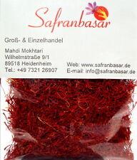 2x4,6 g Safran-Fäden Pushal Qualität Saffron Zafferano azafran von Safranbasar