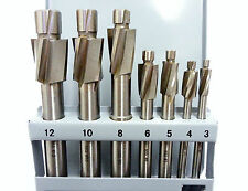 7pc HSS métrique m3-m12 counterbore set