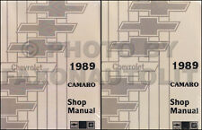 1989 Chevy Camaro Shop Manual 89 IROC-Z RS Chevrolet Repair Service Book