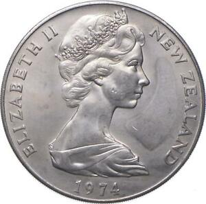 Better - 1974 New Zealand 1 Dollar - Commonwealth Games - TC *511