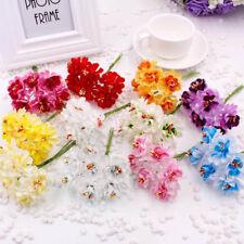 6pcs /bundle Artificial Flowers Wedding Party Decor Birthday Send Flower