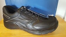 Reebok Super Lightweight Composite Toe Athletic Shoe RB4490 Black Men's Size 11M